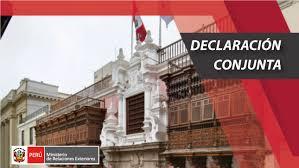 Declaración Conjunta del Grupo de Lima, el Grupo Internacional de Contacto y la Unión Europea en apoyo a la transición democrática en Venezuela