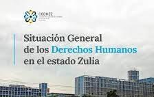 Informe Anual 2020 / Situación general de los Derechos Humanos en el estado Zulia