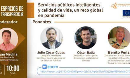 Transparencia Venezuela: Emergencia sanitaria por COVID-19 agudizó la crisis de los servicios públicos