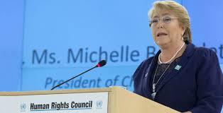 Declaración de Michelle Bachelet sobre las recientes sanciones impuestas a Venezuela