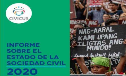 Civicus: Informe sobre el estado de la Sociedad Civil 2020