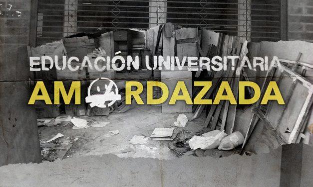 Informe temático 2019 Un Mundo Sin Mordaza: Educación amordazada