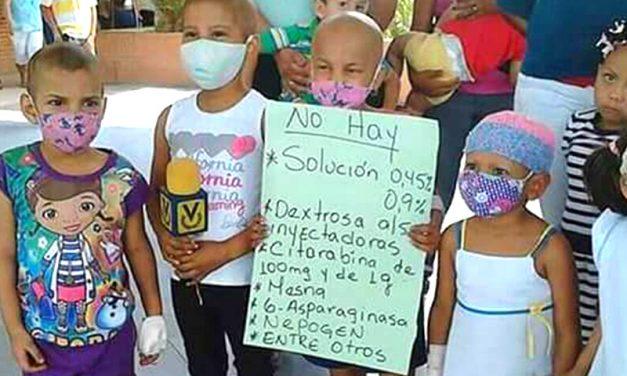 Sin alimentos, medicinas o insumos los niños, niñas, y adolescentes del Hospital JM de los Ríos