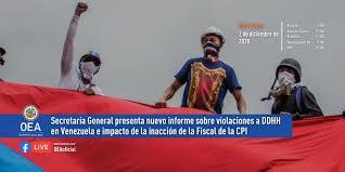 Informe de la Secretaría General de la OEA reafirma crímenes de lesa humanidad en Venezuela