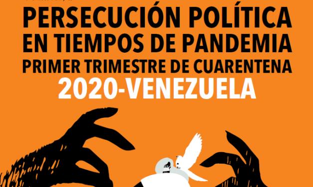 """Informe Cepaz: """"Persecución Política en tiempos de Pandemia"""""""