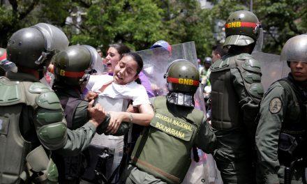 Estado venezolano debe cesar las prácticas represivas contra las manifestaciones pacíficas